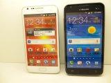 NTTドコモ SC-03D GALAXY S II LTE モックアップ 2色セット