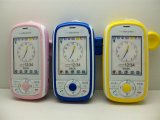 NTTドコモ HW-01D キッズケータイ モックアップ 3色セット