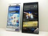 イーモバイル EM01F ARROWS S モックアップ 2色セット