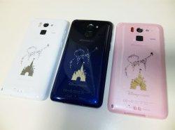 画像2: NTTドコモ F-07E Disney Mobile on docomo モックアップ 3色セット