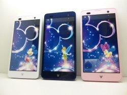 画像1: NTTドコモ F-07E Disney Mobile on docomo モックアップ 3色セット