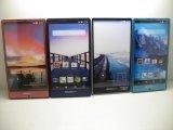 NTTドコモ SH-01G AQUOSPhone ZETA モックアップ 4色セット