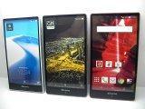 NTTドコモ SH-03G AQUOSPhone ZETA モックアップ 3色セット