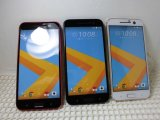 au HTV32 HTC10 モックアップ 3色セット