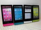 NTTドコモ P-01D Androidスマートフォン モックアップ 4色セット