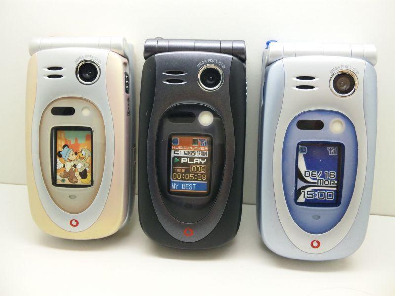 J-Phone J-SH53 Megapixel Camera Phone   Mobile Magazine