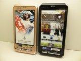 NTTドコモ F-12C Androidスマートフォン モックアップ 2色セット