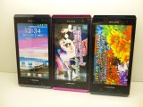 NTTドコモ T-01D REGZA Phone モックアップ 3色セット