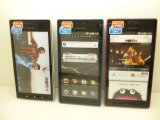 NTTドコモ SH-06D AQUOS Phone モックアップ 3色セット
