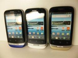 画像1: イーモバイル S41HW PocketWifi S II モックアップ 3色セット