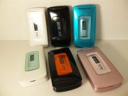 画像1: ウィルコム WX320T モックアップ 6色セット