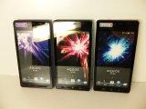 ソフトバンク 102SH AQUOS PHONE モックアップ 3色セット