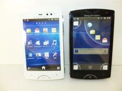 画像1: イーモバイル S51SE SonyEricsson Mini モックアップ 2色セット