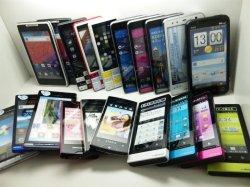 画像1: NTTドコモのスマートフォンモック 15個詰め合わせセット 【クリックポスト非対応商品】