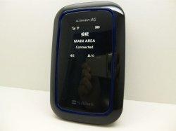 画像1: ソフトバンク 101SI ULTRA 4G WIFIルーター モックアップ