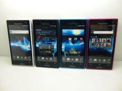 画像1: au IS12S Xperiaacro HD モックアップ 4色セット