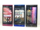 NTTドコモ T-02D REGZA Phone モックアップ 3色セット