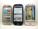 NTTドコモ F-12D らくらくスマートフォン モックアップ 3色セット