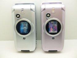 画像1: NTTドコモ D900i モックアップ 2色セット 【クリックポスト非対応商品】