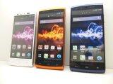 NTTドコモ SH-07E AQUOSPhone si モックアップ 3色セット