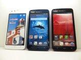 NTTドコモ SH-06E AQUOSPhone ZETA モックアップ 3色セット
