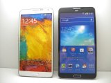 au SCL22 GALAXY note 3 モックアップ 2色セット
