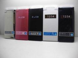 画像1: ウィルコム WX12K モックアップ 5色セット