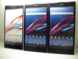 au SOL24 Xperia Z1 Ultra モックアップ 3色セット