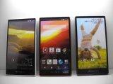 NTTドコモ SH-04F AQUOSPhone ZETA モックアップ 3色セット