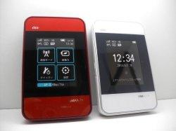画像1: au HWD15 Wi-Fi WALKER WiMAX2+ モックアップ 2色セット