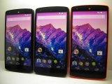 イーモバイル EM01L NEXUS 5 モックアップ 2色セット(ホワイト&ブラック)orレッド