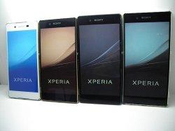 画像1: au SOV31 Xperia Z4 モックアップ 4色セット