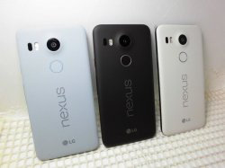 画像2: Y!mobile NEXUS5X モックアップ 3色セット