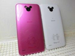 画像2: NTTドコモ DM-02H Disney Mobile on Docomo モックアップ 2色セット