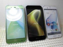 画像1: NTTドコモ SH-04H AQUOSPhone ZETA モックアップ 3色セット