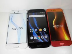 画像3: ソフトバンク 604SH AQUOS R モックアップ 3色セット