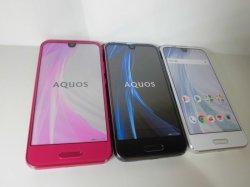 画像1: au SHV41 AQUOS R Compact モックアップ 3色セット