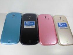 画像2: NTTドコモ F-03K らくらくスマートフォン me モックアップ 4色セット