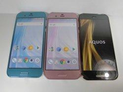 画像1: ソフトバンク 604SH AQUOS R モックアップ 3色セット