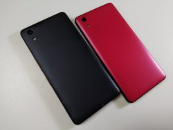 画像2: UQ-Mobile おてがるスマホ 01 モックアップ 2色セット