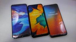 画像1: UQ-Mobile GALAXY A30 モックアップ 3色セット