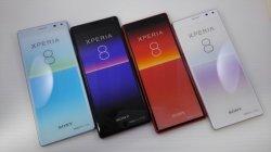 画像1: au SOV42 Xperia 8 モックアップ 4色セット