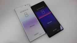 画像1: UQ-Mobile SOV42 Xperia8 モックアップ 2色セット