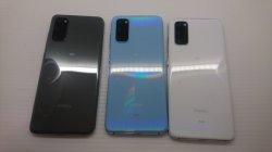 画像2: au SCG01 Galaxy S20 5G モックアップ