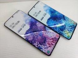 画像1: au SCG02 Galaxy S20+ 5G モックアップ 2色セット