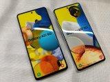 au SCG07 Galaxy A51 5G モックアップ