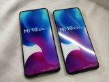 au XIG01 Mi 10 Lite 5G モックアップ 2色セット