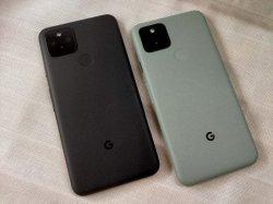 画像2: Google Pixel5 モックアップ
