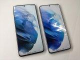 au SCG10 Galaxy S21+ 5G モックアップ