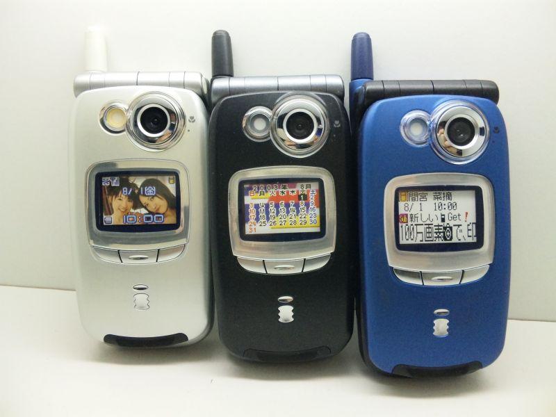 NTTドコモ SH505i モックアップ ...